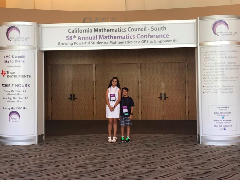 California Math Council 2017