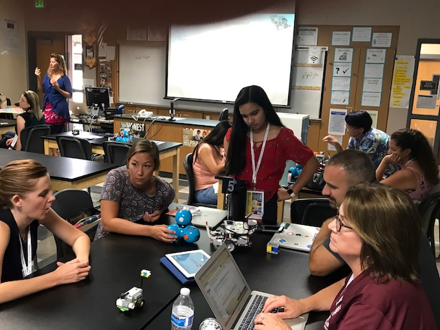 RCOE Google STEAM Summer Camp 2017