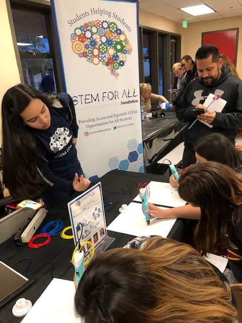 Vista Heights Family STEAM Night 2019
